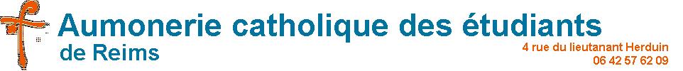Aumônerie Catholique des Etudiants de Reims Logo